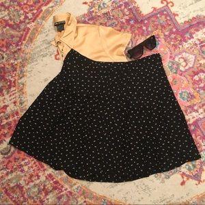 Ralph Lauren Pleated Printed Skirt